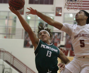 Whitewater, McIntosh split region rematch