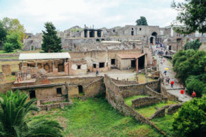 Pompeii: An ancient Roman city frozen in time