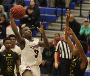 Sandy Creek boys roll into Final Four, Lady Patriots fall to Luella