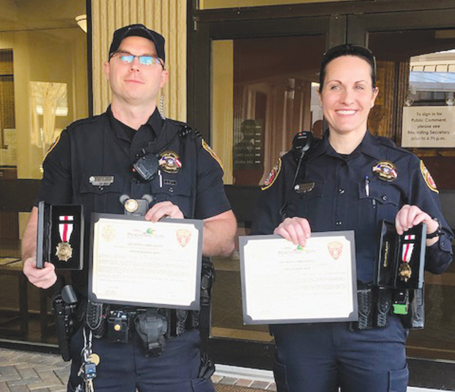 PTC Police officers hailed as heroes