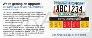 Early auto tag renewals urged as state updates system