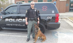 F'ville PD introduces newest officer
