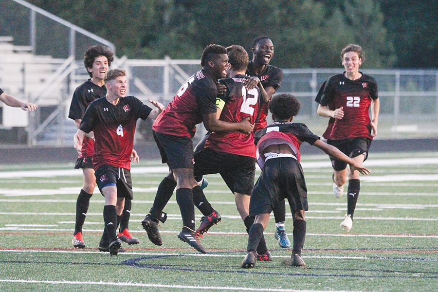 Whitewater topples Rome in thrilling PK finale