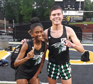 Track and field stars roll at state championships