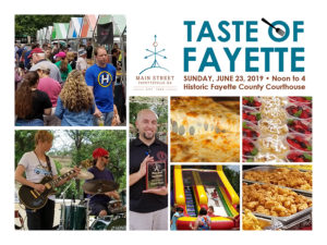Rained-out Taste of Fayette reset for June 23