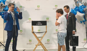 Aspiring filmmaker's wish comes true at Pinewood