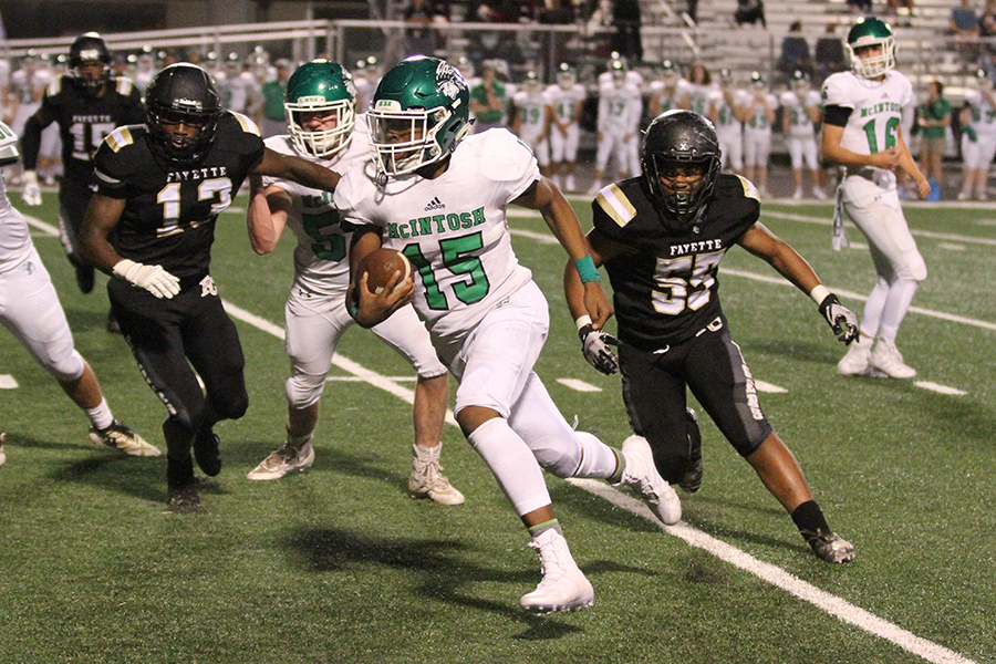 McIntosh rallies late to beat old rival Fayette County 21-20