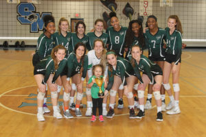 McIntosh, Sandy Creek win region volleyball titles