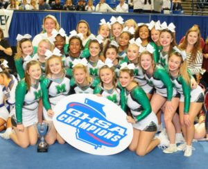 McIntosh Cheer wins fifth state championship