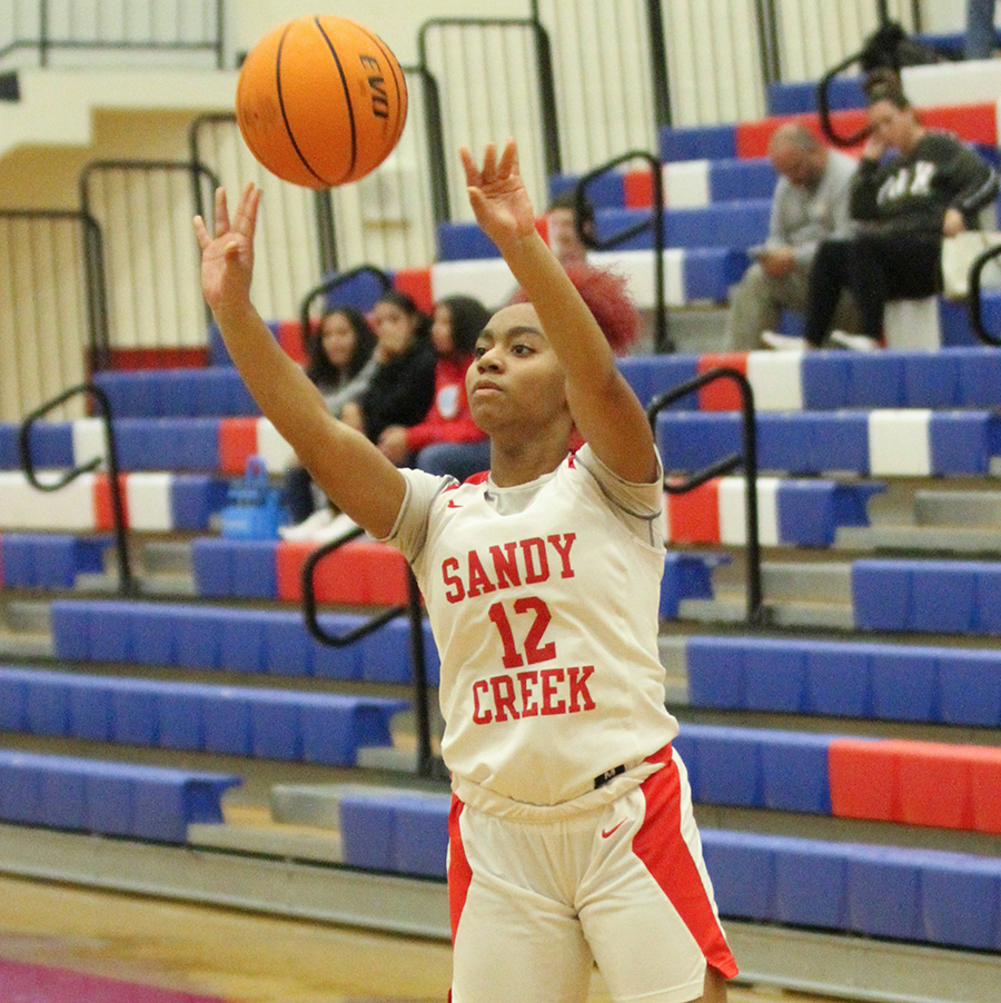 Lady Patriots rally again to beat Flowery Branch, 50-43