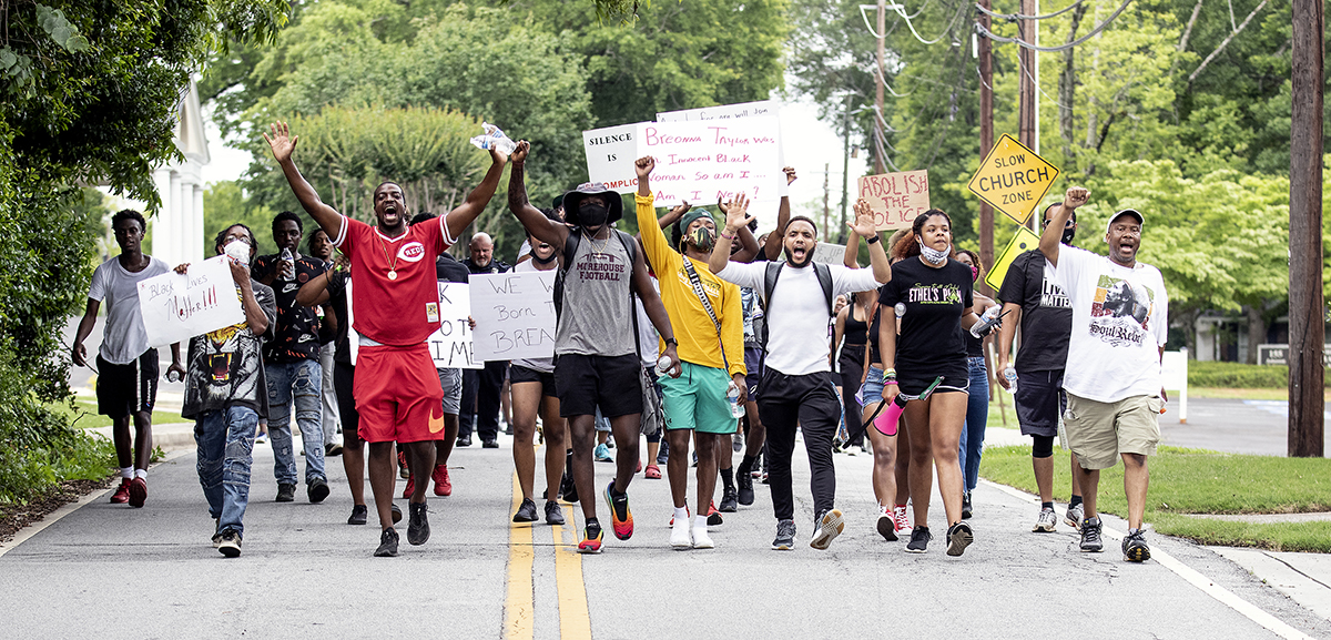 Fayette marches for change