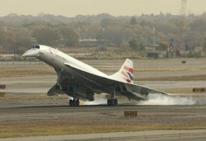 My flight aboard the SST Concorde