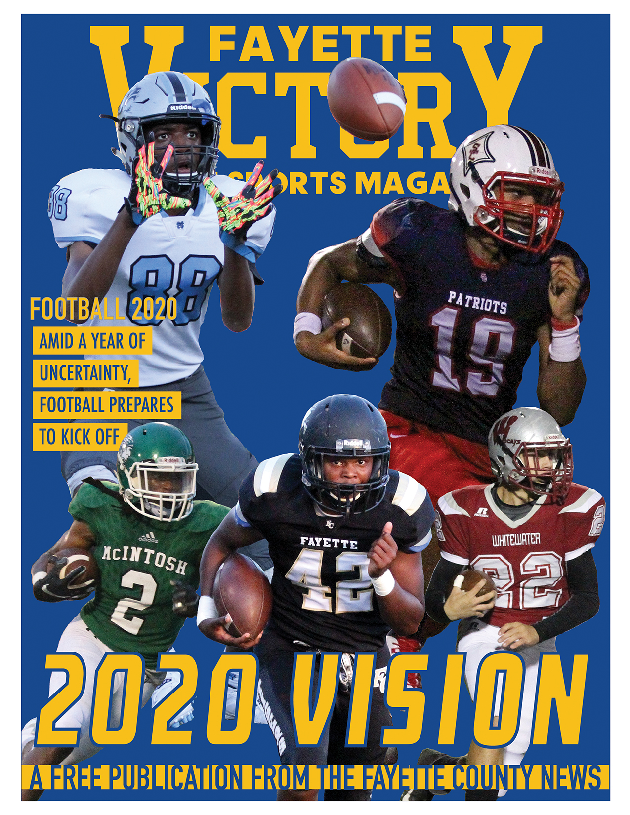 2020 Fayette Victory Football Issue