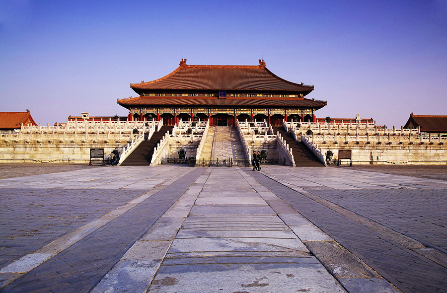 Tiananmen Square and the Forbidden City
