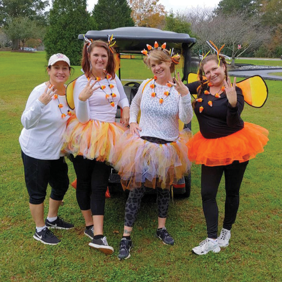 PTC golf cart scavenger hunt brings fun to the paths