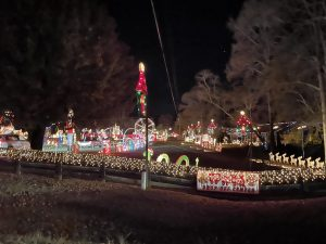 The powerful story behind the Gaddy's Christmas lights show