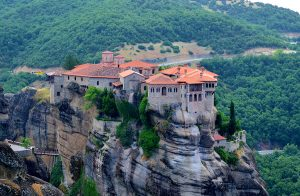 """In the heavens above"" – Meteora, Greece"