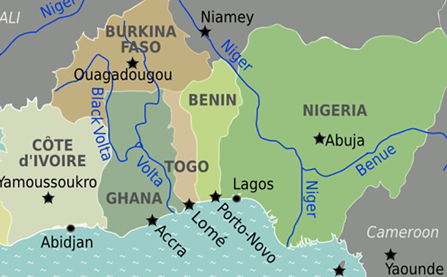 My road trip through four West African countries